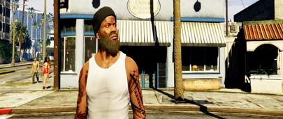 Новая борода в ГТА 5 для Франклина – обычная и байкерская