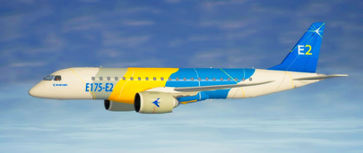 Самолёт Embraer E-Jets E2 E175-E2 для GTA 5