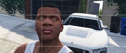 Глаза рептилии для Франклина в ГТА 5