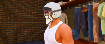 Качественный винтажный шлем для ГТА 5