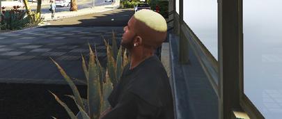 Мод на Волосы Блондина в ГТА 5 у Франклина