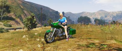 Скин девушки для GTA 5 – Marie из Dead or Alive