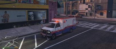 Мод ГТА 5 на работу в скорой помощи