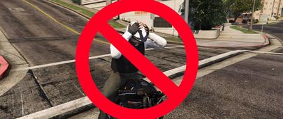 ГТА 5 мод на отключение автоматической экипировке в шлем во время езды на мотоциклах