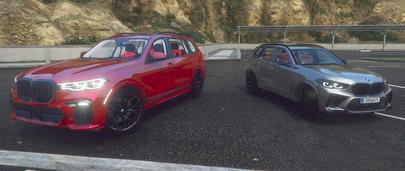 Мод на автомобиль BMW X7 для GTA 5