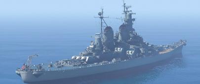 Мод на Линейный Корабль USS Missouri (BB-63) для GTA 5
