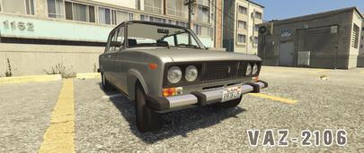 ГТА 5 ВАЗ 2106