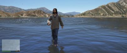Ходить по воде в ГТА 5 Моды