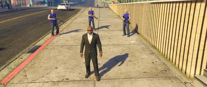 Неуязвимые телохранители в ГТА 5