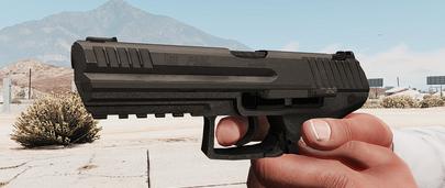 Пистолет H&K P30L для GTA 5