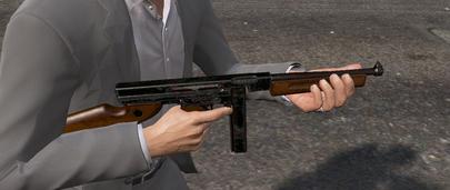 Пистолет-пулемёт Thompson M1A1 для GTA 5