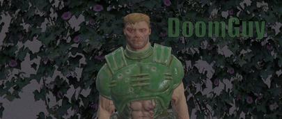 Скин Doom Guy для GTA 5