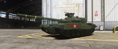 Мод на Танк Т-90А (Владимир) для ГТА 5