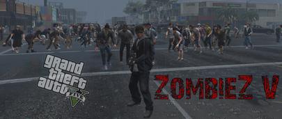 GTA 5 ZombieZ V 0.14 – нашествие зомби