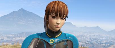Скин Kasumi из Dead or Alive для GTA 5