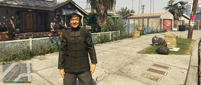 Скин киноактёра Jackie Chan для GTA 5
