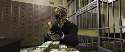 Качественная модель маски Greed из игры Payday 2 для GTA 5