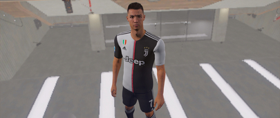 Скин Cristiano Ronaldo для GTA 5 Моды в форме футболиста
