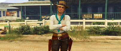 Скин женщины Sadie Adler из Red Dead Redemption 2 для GTA 5 Моды