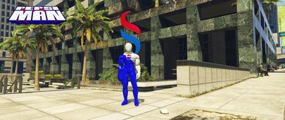 GTA 5 мод на Скин Pepsiman