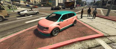 Мод на изменение цветов машин в ГТА 5