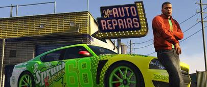 Бесплатный ремонт машин в ГТА 5 и любого другого транспорта