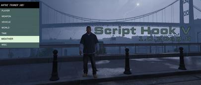 Script Hook V  1.0.2060.0 для GTA 5