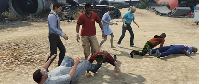 Мод Ragdoll On Melee для GTA 5 – Усложнение ближнего боя – Драки становятся ещё интереснее