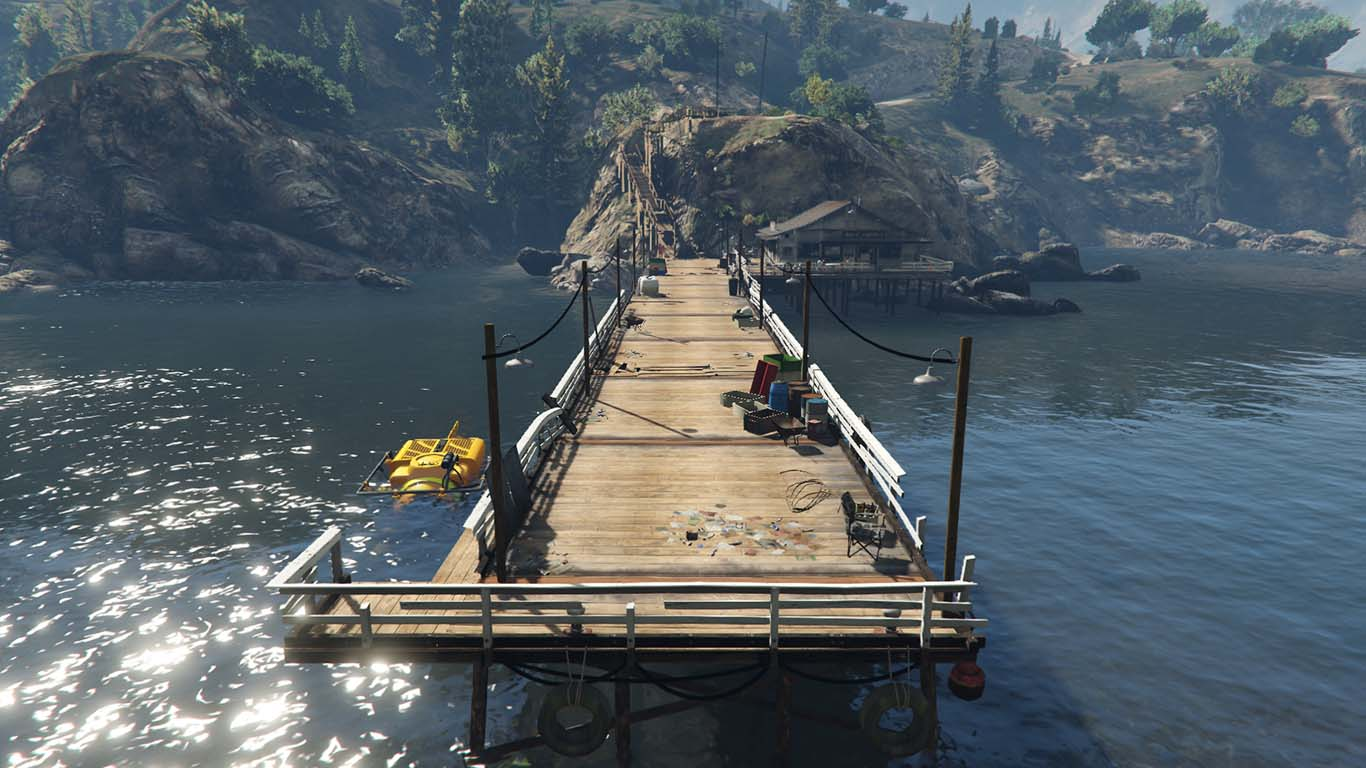GTA 5 Sonar Collections Dock
